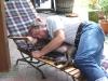 Mittagsschlaf mit Herrchen