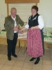 Franz Spitaler bedankt sich für die Arbeit mit Eiko´s Abkömmlingen