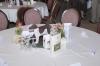 Die Tischdeko im Festsaal