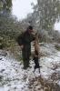 Fuchs erlegt - Jagdkönig - und Terrier Floh freut es