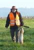 Birgit hat auch Waidmannsheil - auch ihr erster Hase