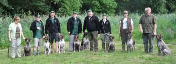 Trainingsgruppe D-Wurf - Kleemannvorbereitung