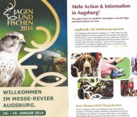 Der Messeflyer